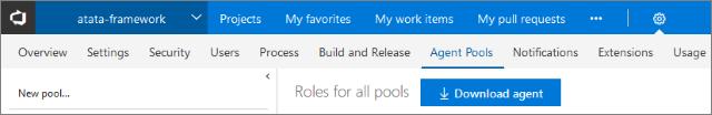 Download build agent