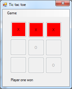 Unit testing on tic tac toe example - CodeProject