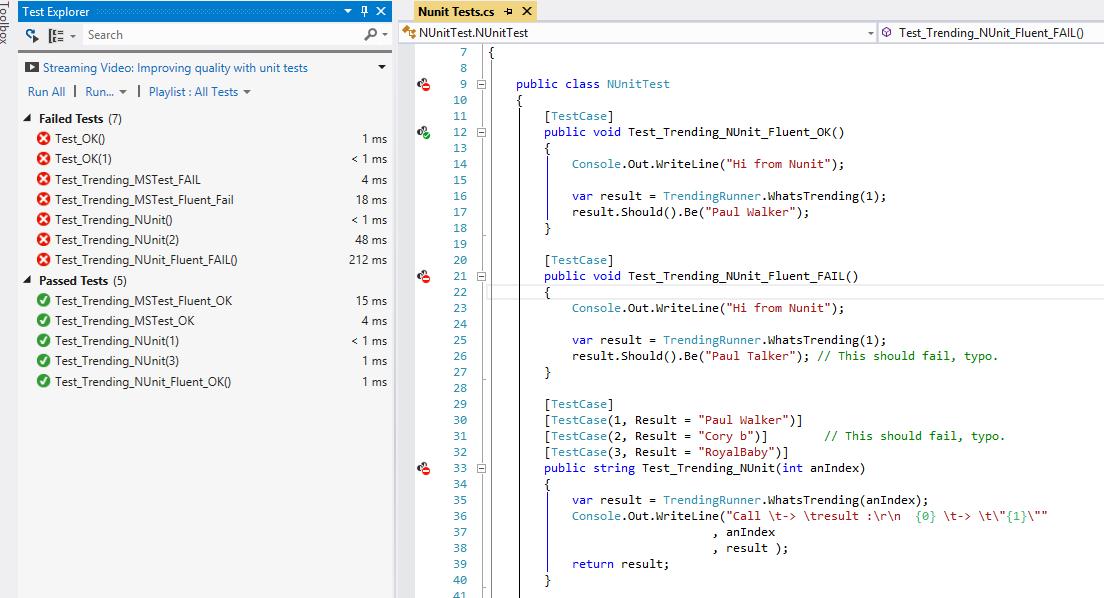 Selenium c# tutorial nunit, data driven framework youtube.