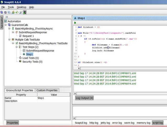 Automating SoapUI using Groovy – A Walk Through - CodeProject