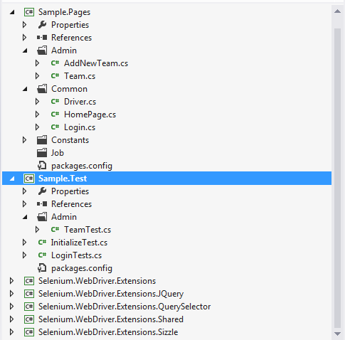 Writing automation test with Selenium WebDriver Extension jQuery