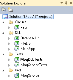 MOQ and C# (inc  Synchronized and Asynchronized WCF Service
