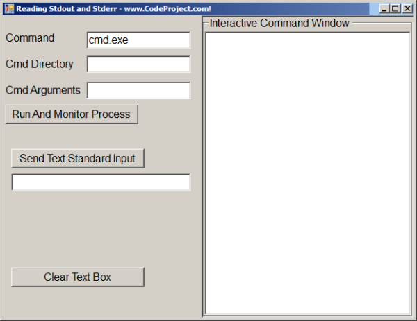 Solving Problems of Monitoring Standard Output and Error Streams of