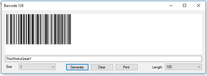 VB NET Code 128 (B) Barcode Generator/Creator - CodeProject