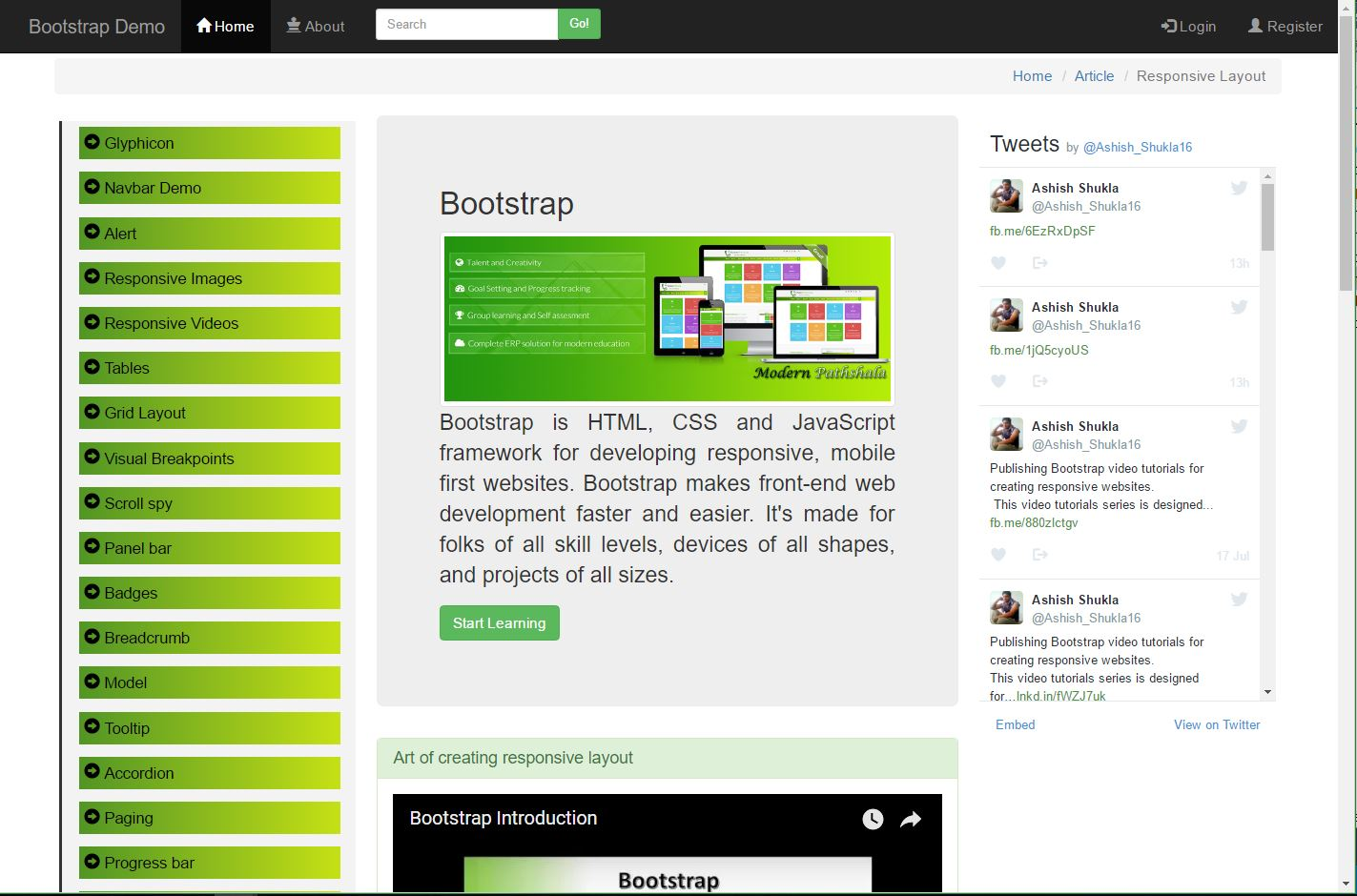 Creating Responsive Website Using Bootstrap Codeproject
