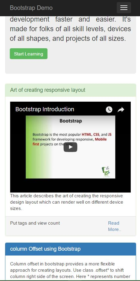 Creating Responsive Website using Bootstrap - CodeProject