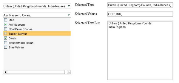 MultiSelect Dropdown Control - CodeProject