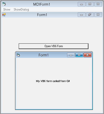 how to open form in mdi parent in c