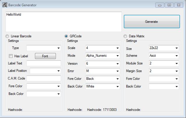 Barcode Generator - CodeProject