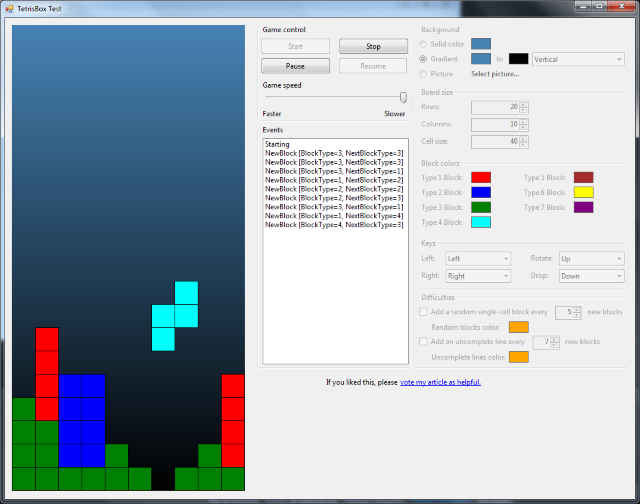 Create Tetris games in  Net - CodeProject