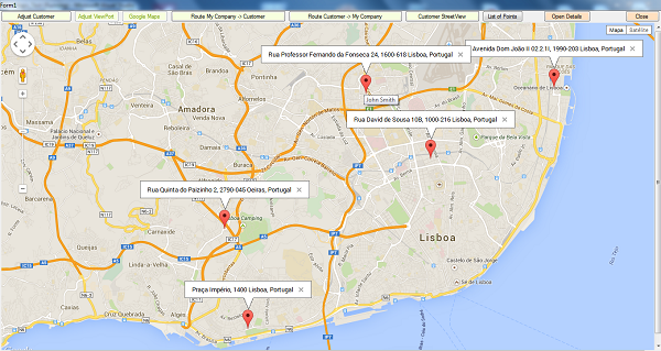 GMaps V Google MapsRoutingStreetView Allin CodeProject - Portugal map google