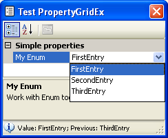 Enum Property