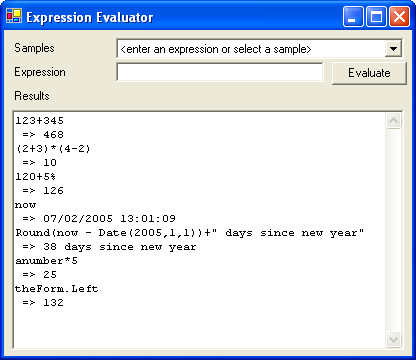 An expression evaluator written in VB NET - CodeProject