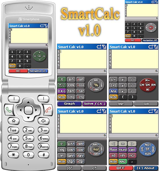 SmartCalc : Screenshots