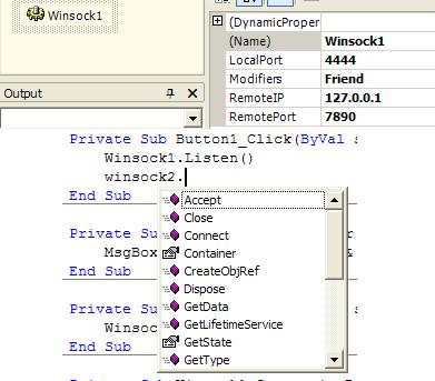 Winsock NET - CodeProject