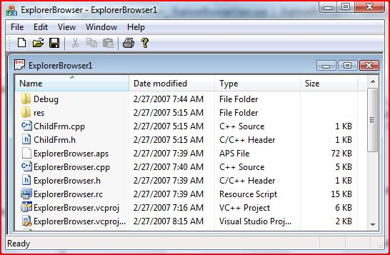 NormalExplorer Browser Views