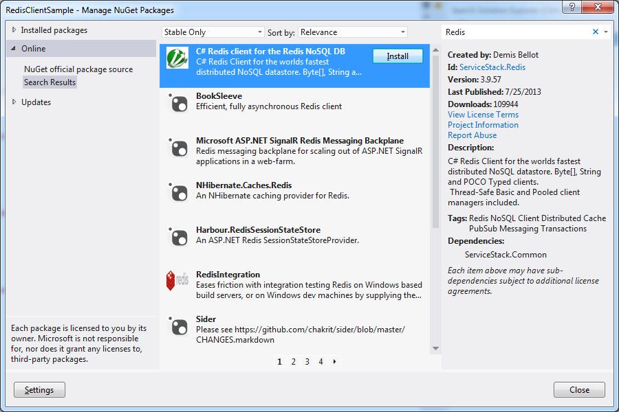 install redis-cli windows
