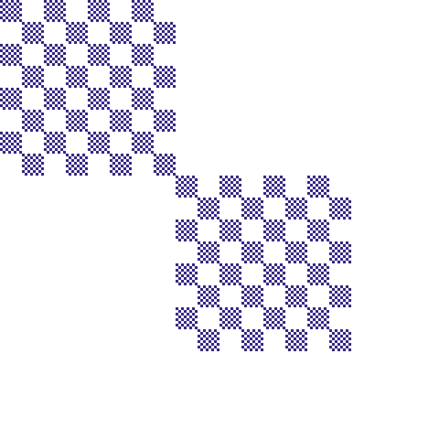 Chessboard fractal, order 3