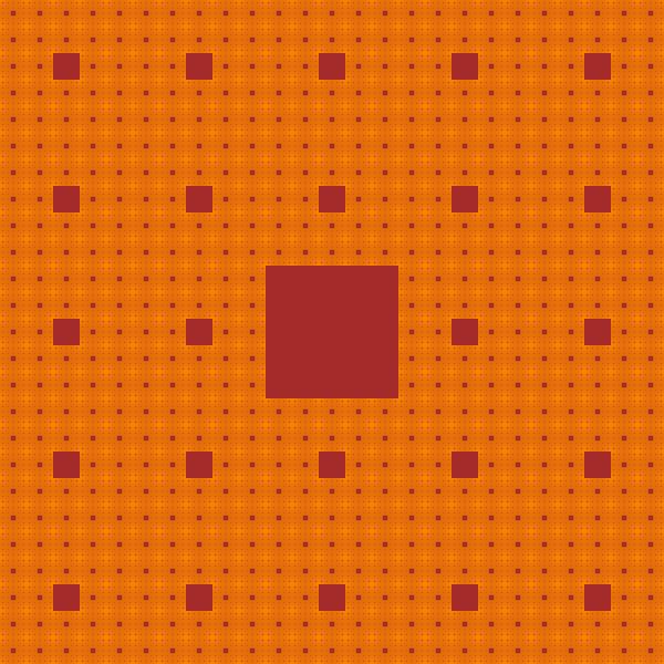 Rug sibling #2 fractal, order 4
