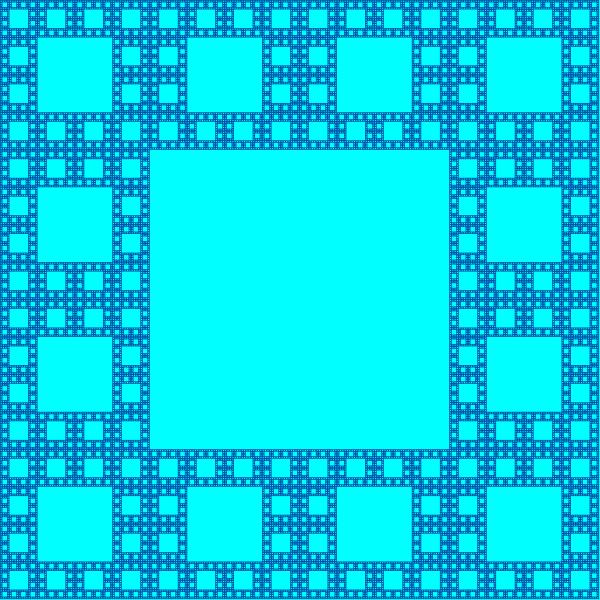 Rug sibling #3 fractal, order 5