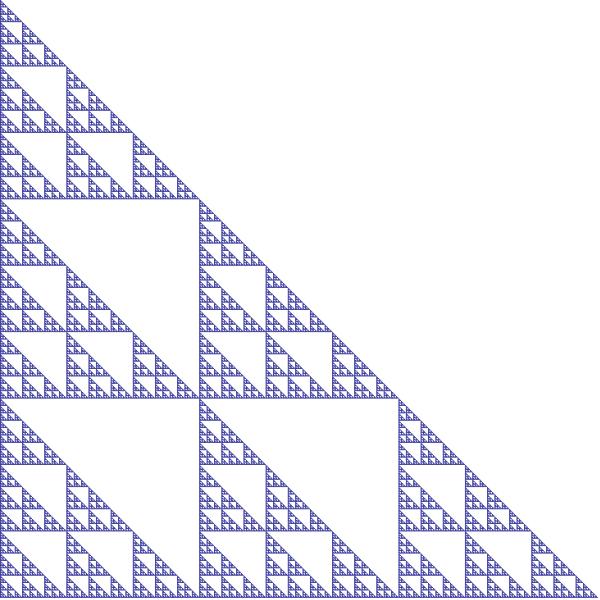 Triangle sibling #2 fractal, order 6