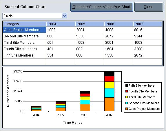 how to create a 3 column chart in word