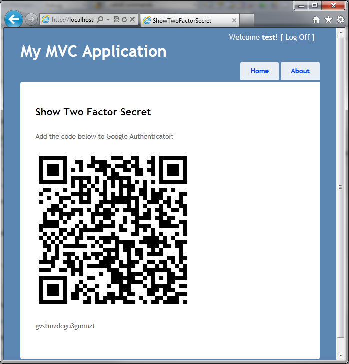 Implementing Two Factor Authentication in ASP NET MVC with