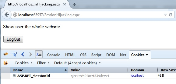 Hack proof your asp net applications from Session Hijacking