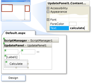 update panel in asp.net c# not working