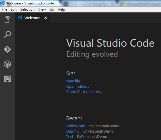 How to Initialize a Git Repository using Visual Studio Code