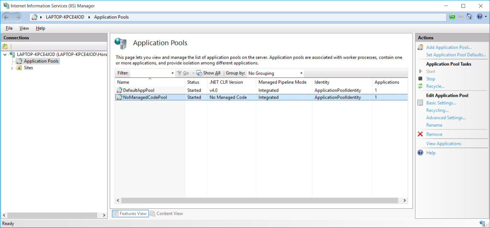 Get  NET Core Web API Hosted in IIS - CodeProject