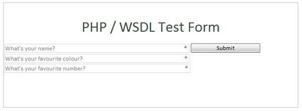 PHP Web Service WSDL Generator / SOAP Server (Document