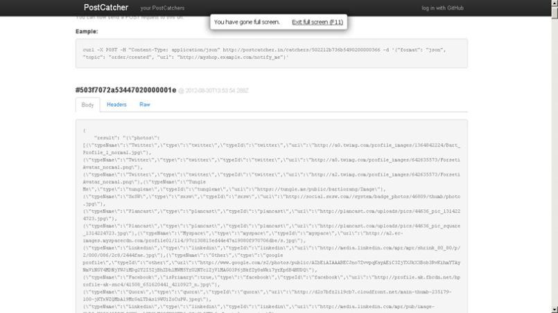 Webhooks, webhook URLs and a sample implementation example