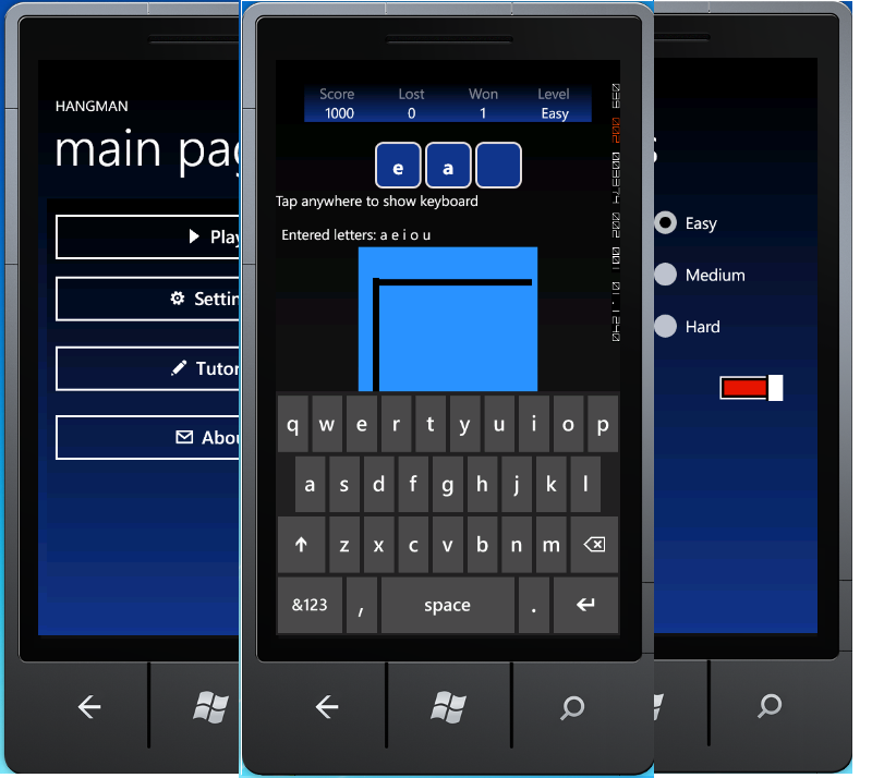 Hangman A Simple Word Game For Windows Phone 7 Codeproject