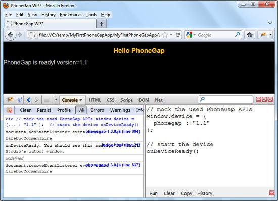 Property Finder - a Cross-Platform HTML5 Mobile App