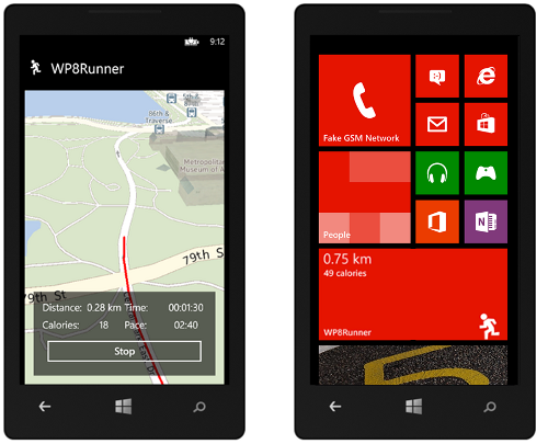 A Windows Phone 8 Run Tracking In 100 Lines Of Code
