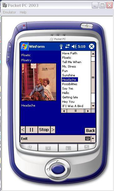 A) fieldwise news, pocket pc version, using (b and c) wireless gsm.