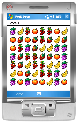 Fruit Drop Screen Shot
