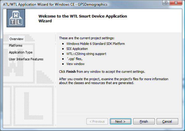 WTL Wizard - Overview