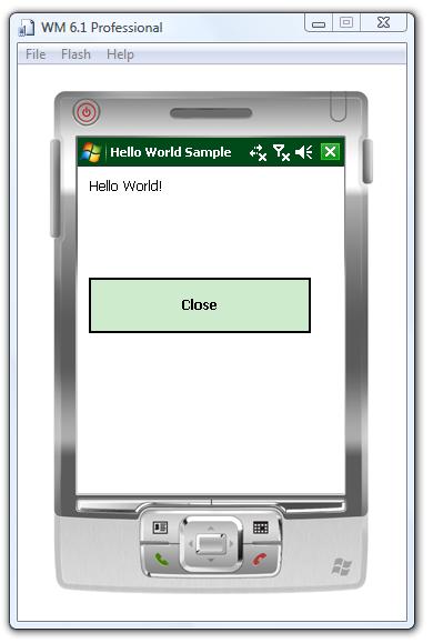 windows ce emulator visual studio 2005