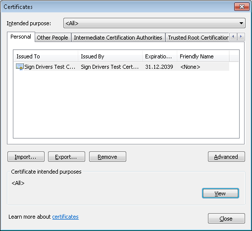 How to Sign Device Drivers with WDK 7 1 - CodeProject