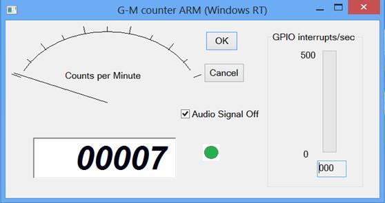 Radiation Counter on Windows RT - CodeProject