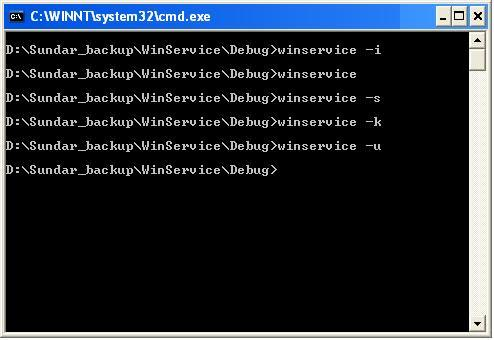 A Windows Service Application - CodeProject