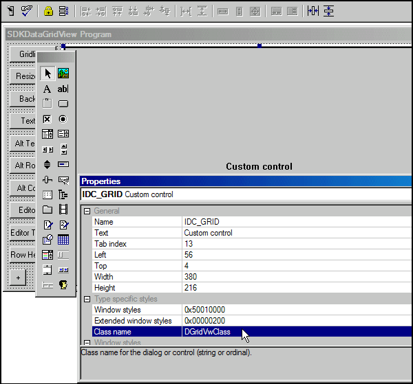 Win32 SDK Data Grid View Made Easy - CodeProject