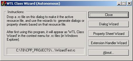 The Executable Wizard
